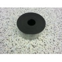 Massief oplegrubber 100x2 mm 10 meter