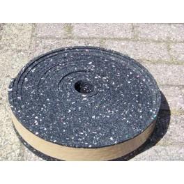 Granulaat rubber rol 10meter 8x1 cm