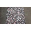 Poly geperst rubber 1 cm 240 kg/m3