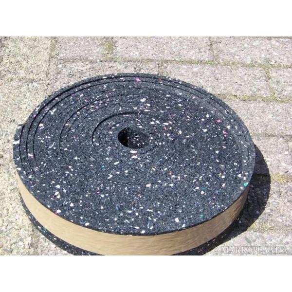 Granulaat Rubber Rol.Granulaat Rubber Rol 10meter 8x1 Cm Geluidsisolatie Kopen
