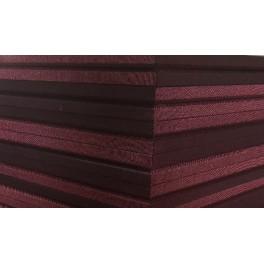 Akoepaneel 60x60 cm grijsbruin