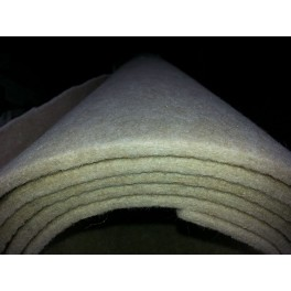 8 mm dik vilt 850 gram / m2 5x2 meter